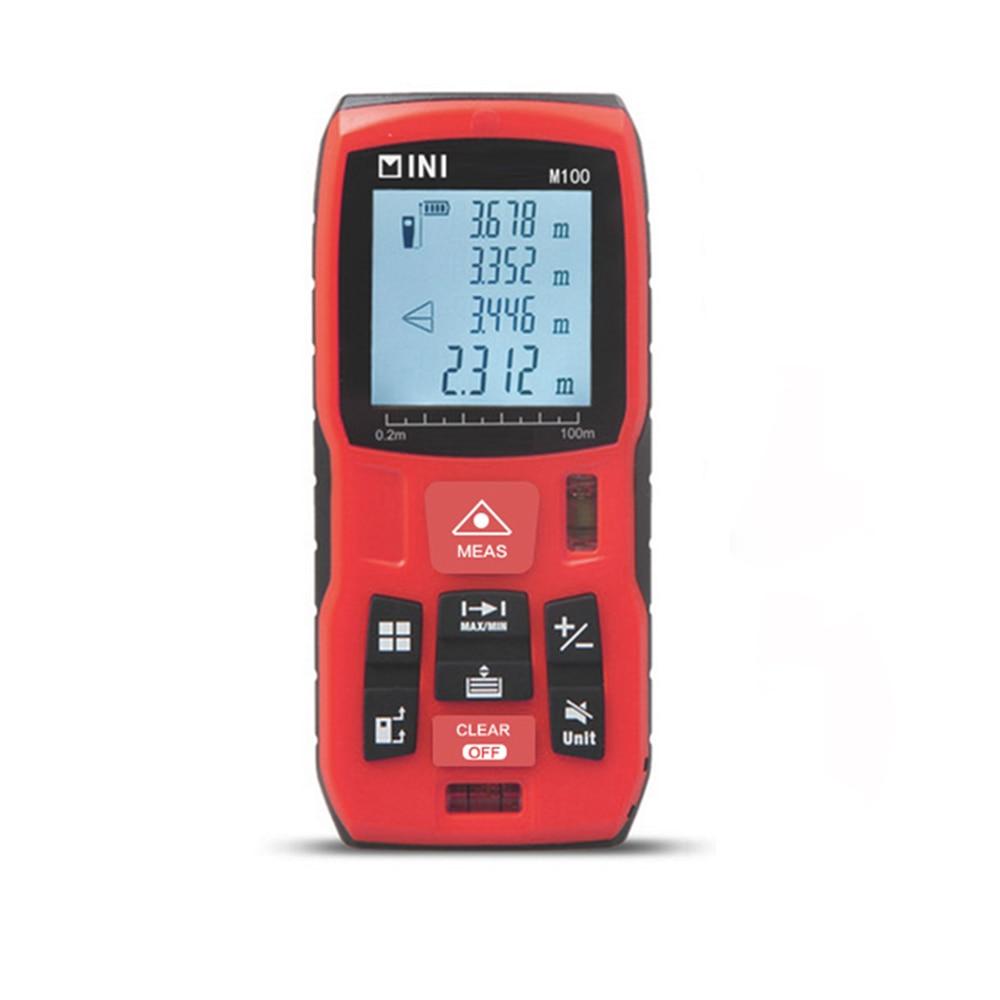 Mileseey Mini Laser Distance Meter Laser Tape Measure 2