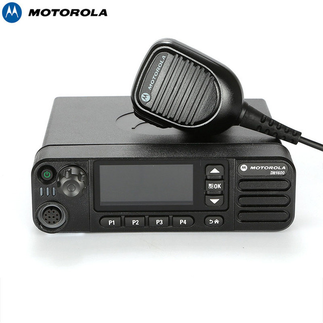 US $564 1 |Motorola DM4600 25w UHF/VHF mobile car radio dmr walkie talkie  -in Walkie Talkie from Cellphones & Telecommunications on Aliexpress com |