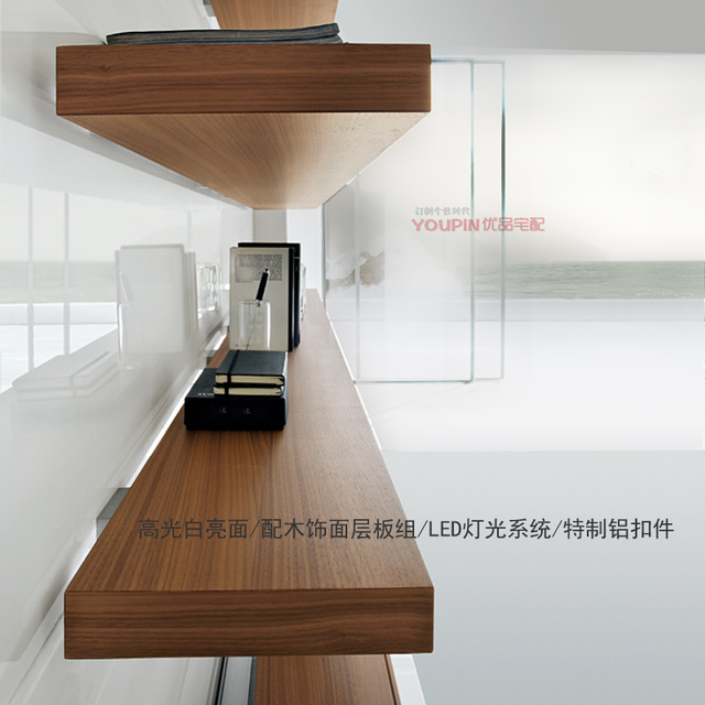 Genial TV Cabinet Back Wall Composite Design System Wood Veneer Laminates Skin  Scandinavian Modern Minimalist Furniture Shelves