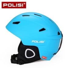 POLISI Professional Men Snowboard Skating Skiing Helmet Ultralight Winter Outdoor Sport Ski Snow Safety Helmet Equipment