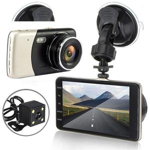Image 3 - Dashcam Grabadora de conducción para coche, 4 pulgadas, IPS, Full HD, 2019 P, grabadora de conducción DVR para coche, lente gran angular de 1080 grados, cámara de salpicadero para coche, novedad de 170