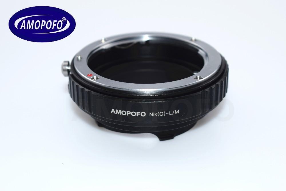 Adapter N / G-LM për Nikon G AI A F Lente për Leica M L / M M9 M8 - Kamera dhe foto - Foto 3