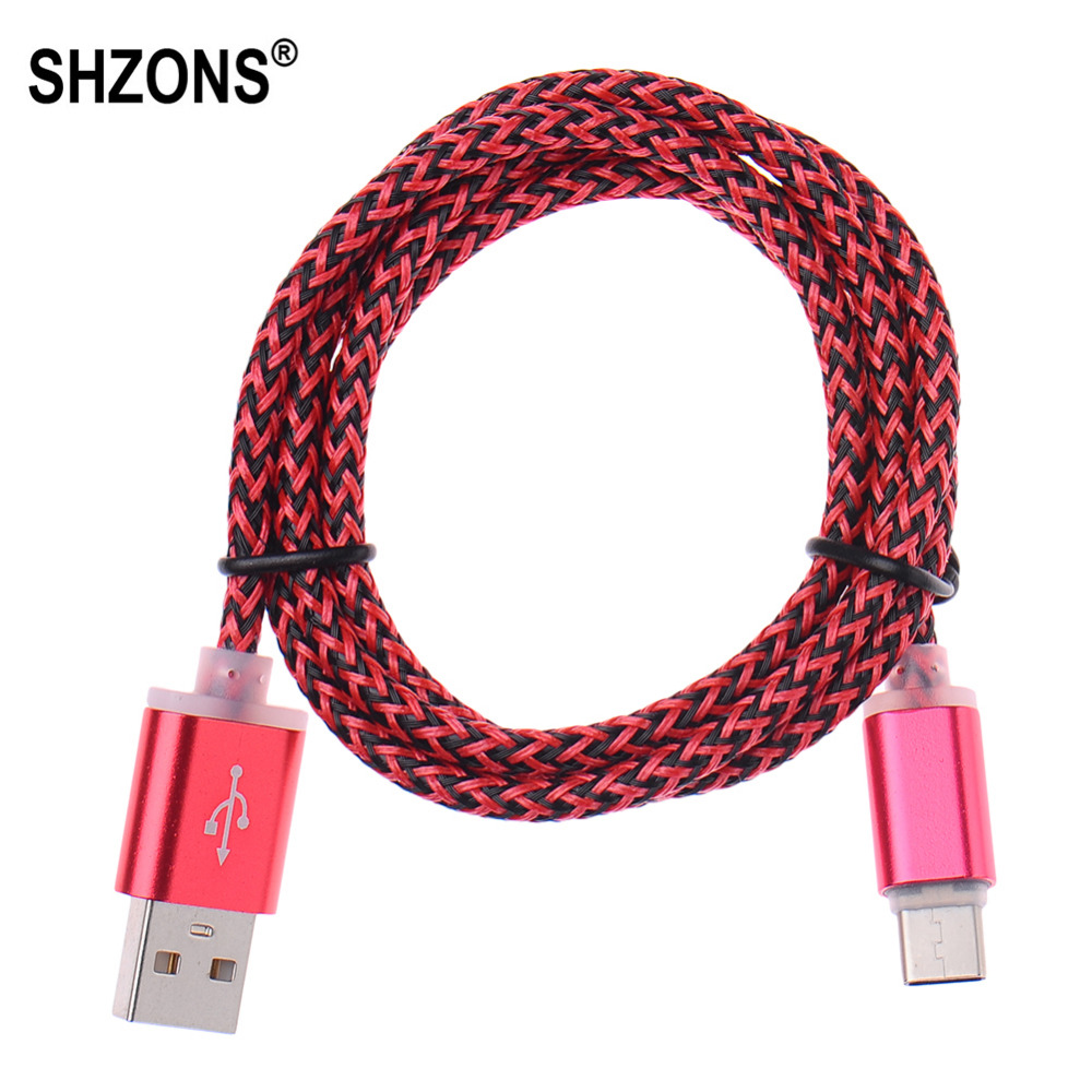 1m 3ft Type-C Cable USB 3.0 Data Sync Fast Charging Cable Cord for Samsung S7 for Huawei Xiaomi HTC LG Type C USB Charge Cable