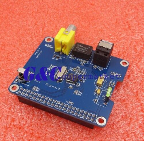 HIFI DiGi+ Digital Sound Card SPDIF  I2S Optical Fiber for Raspberry Pi HIFI
