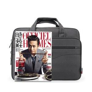 Image 5 - Nouvelle mallette daffaires pochette dordinateur Oxford tissu multifonction étanche sacs à main portefeuilles daffaires homme épaule sacs de voyage