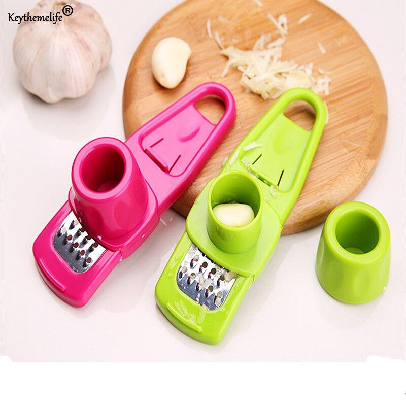 Frete grátis Multi funcional gengibre moagem de alho ralador plaina Slicer cortador cozinhar ferramenta utensílios de cozinha acessórios B33