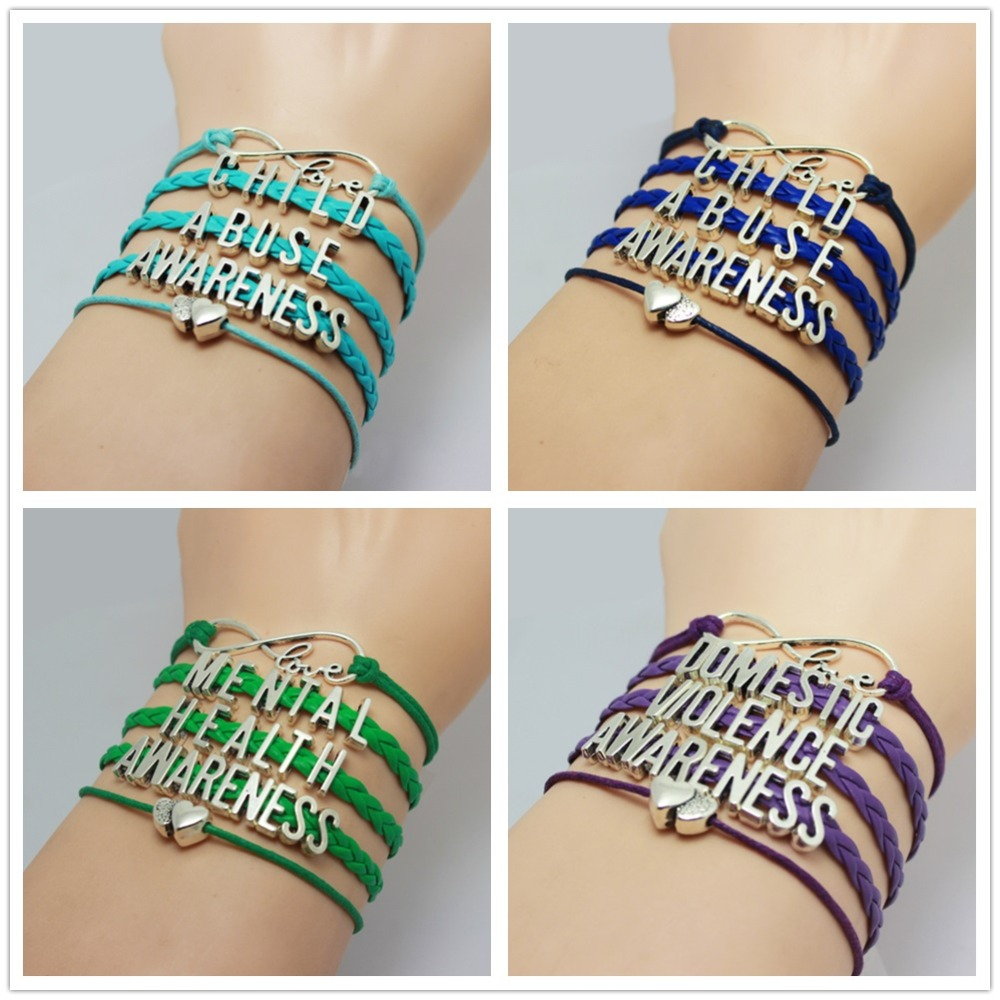health awareness ribbon il fullxfull ihsv jewelry p mental illness bracelet green