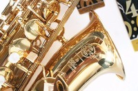 Selmer 802 E Flat Alto Saxophone Electrophoresis Gold Top Music Saxophone Professional Grade Alto Saxophone Free