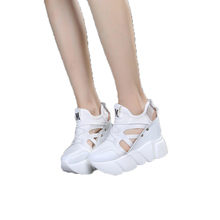 Обувь для девочек; визуально увеличивающая рост обувь; дышащая обувь на полой подошве; спортивная обувь для девочек; кроссовки для студентов на толстой подошве; ;#2
