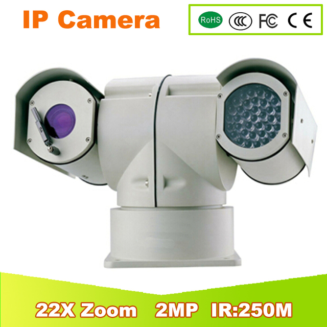 YUNSYE Police high speed 2Mp PTZ Full HD 22x Network IR PTZ Dome Camera free shipping Police ptz camera ir:250m 1080p camera