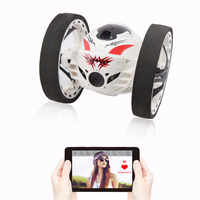 2016 New upgraded Bounce Stunt RC Car 4CH 2.4GHz Jumping Sumo Remote Control with WIFI Camera App controll Rc Car Toys