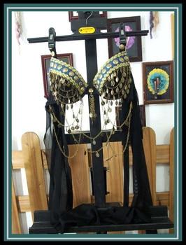 Tribal belly dance bra BI129