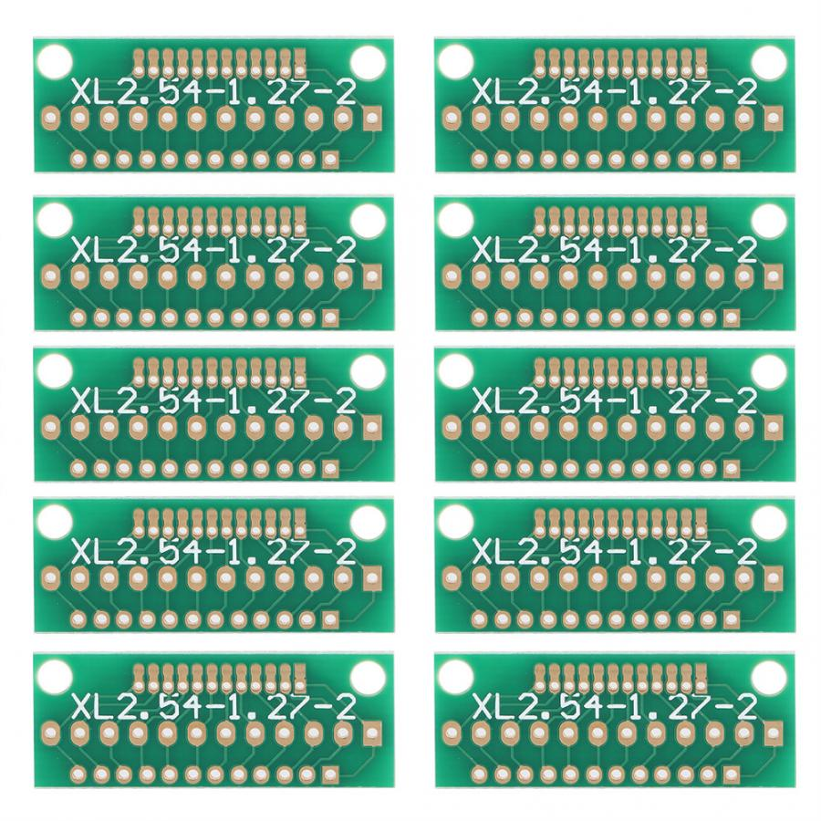 10pcs 1 27MM 2 0MM 2 54MM 12 Pin 3 Row 36 Holes Adapter Board for Wireless Modules