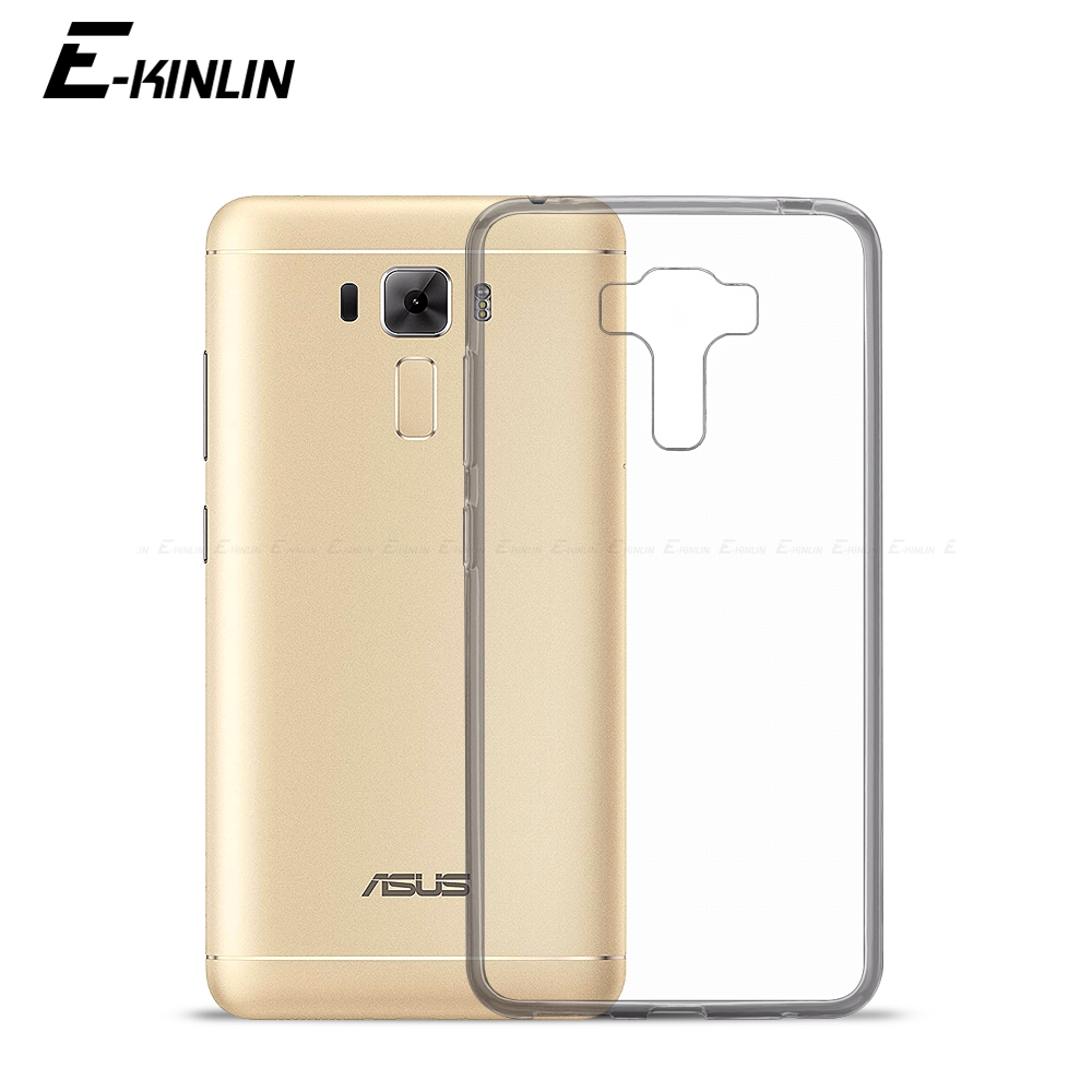 Ultra Thin Clear Soft TPU Case For Asus ZenFone 3 Deluxe Laser ZE520KL ZE552KL ZS550KL ZS570KL