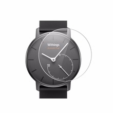 Precision HD Screen Protector for Withings Activite Pop Steel Smart Watch FR Skin Cover Clear Film Guard Shield
