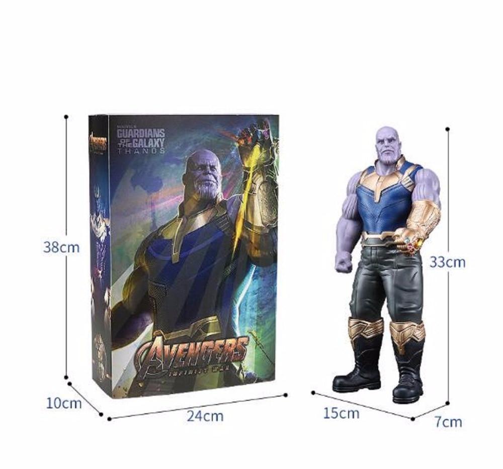 33cm Marvel the Avengers 3 INFINITY WAR Thanos PVC Action Figure Model Gift Toy