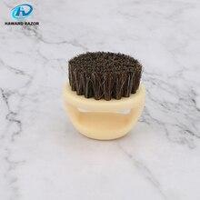 HAWARD RAZOR Men's Beard Brush,Barber Salon Shaving Tools,1 Piece Horse Bristle Brush