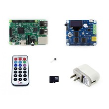 Newest Raspberry Pi 3 Model B Package B# Raspberry Pi 3 Model B + Expansion Board Pioneer600 + 16GB Micro SD card + Accessories