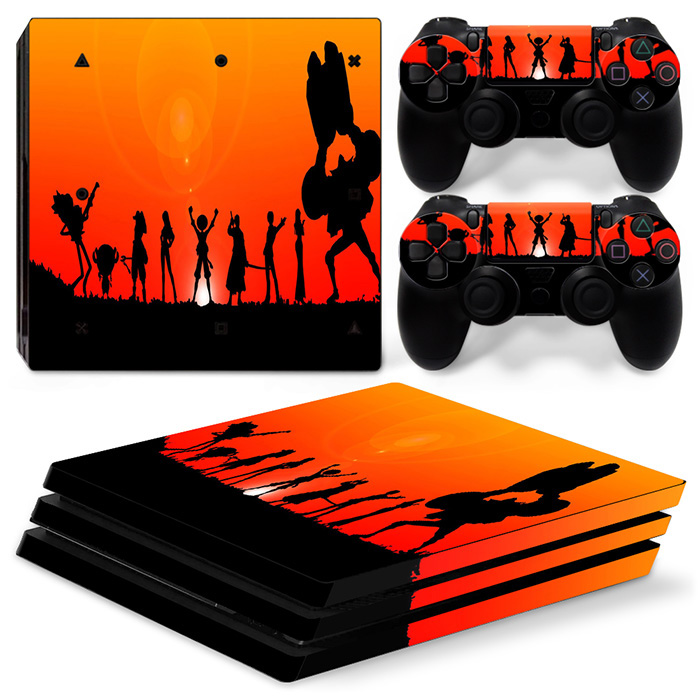 free drop shipping Full Cover skin sticker for Sony PlayStation 4 Controller Skins #TN-P4Pro-1229
