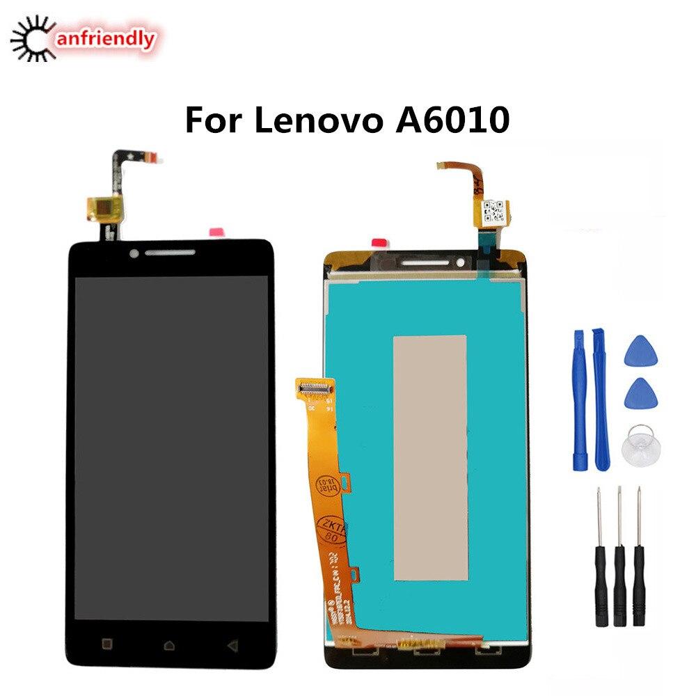 Für Lenovo A6010 LCD Display + Touch Screen Ersatz Digitizer Montage Für Lenovo EINE 6010 ersetzen reparatur teil lcds mit rahmen