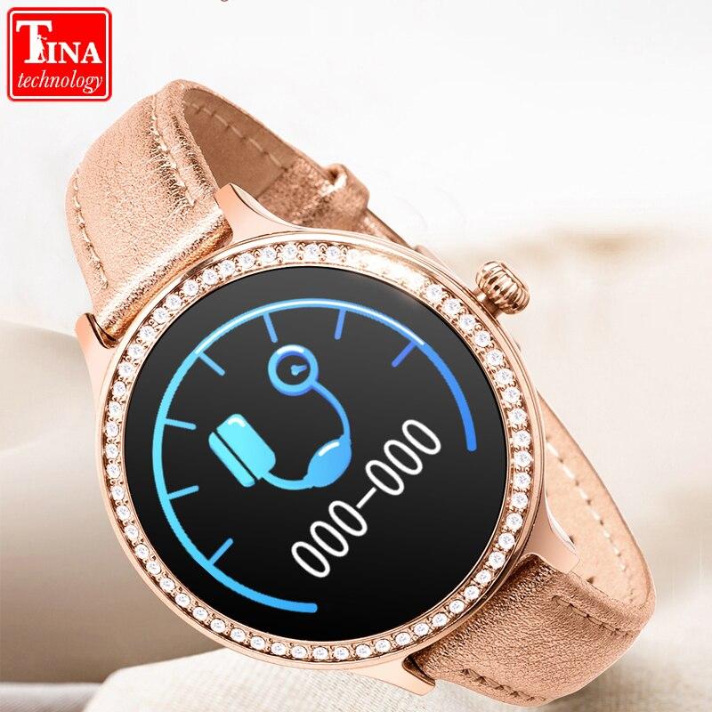 2019 M8 Women Smart Watch Wristband IP68 Waterproof Lady Smart Band Heart Rate Monitor Fitness Tracker