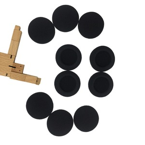 Image 4 - IMTTSTR 6 Pairs of Soft Foam Sponge Ear Tip Cover Replacement Earbud Covers for 35 40 45 50 55 60 65 70 80 mm Earphones Sleeve
