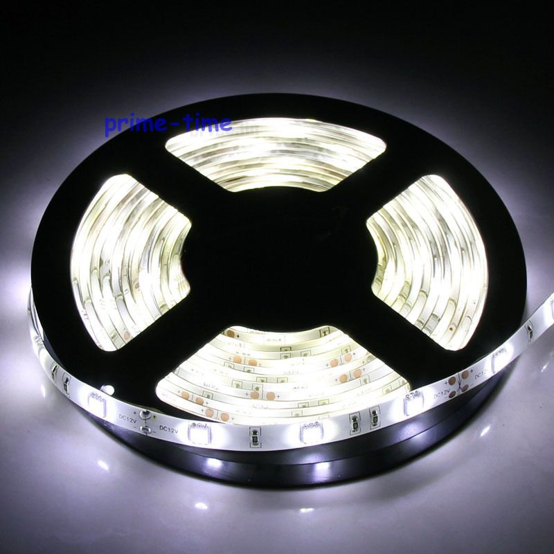 5m 5050 SMD 150 Leds LED Strip IP65 Waterproof ,12V Flexible 30led/m LED Tape, White/warm White/blue/green/red/yellow/RGB Color