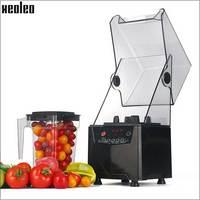 Xeoleo Professional Commercial Blender With Blimp Food Processor Food Smoothie Machine Make Milkshake Mute Blender Mixer