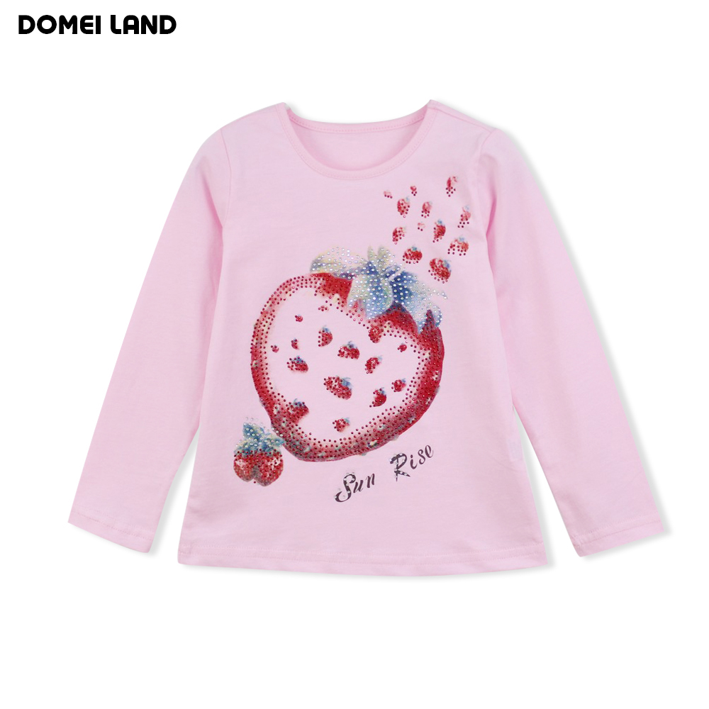 2016 new fashion brand children cute baby girl clothes for Newborn girl t shirts