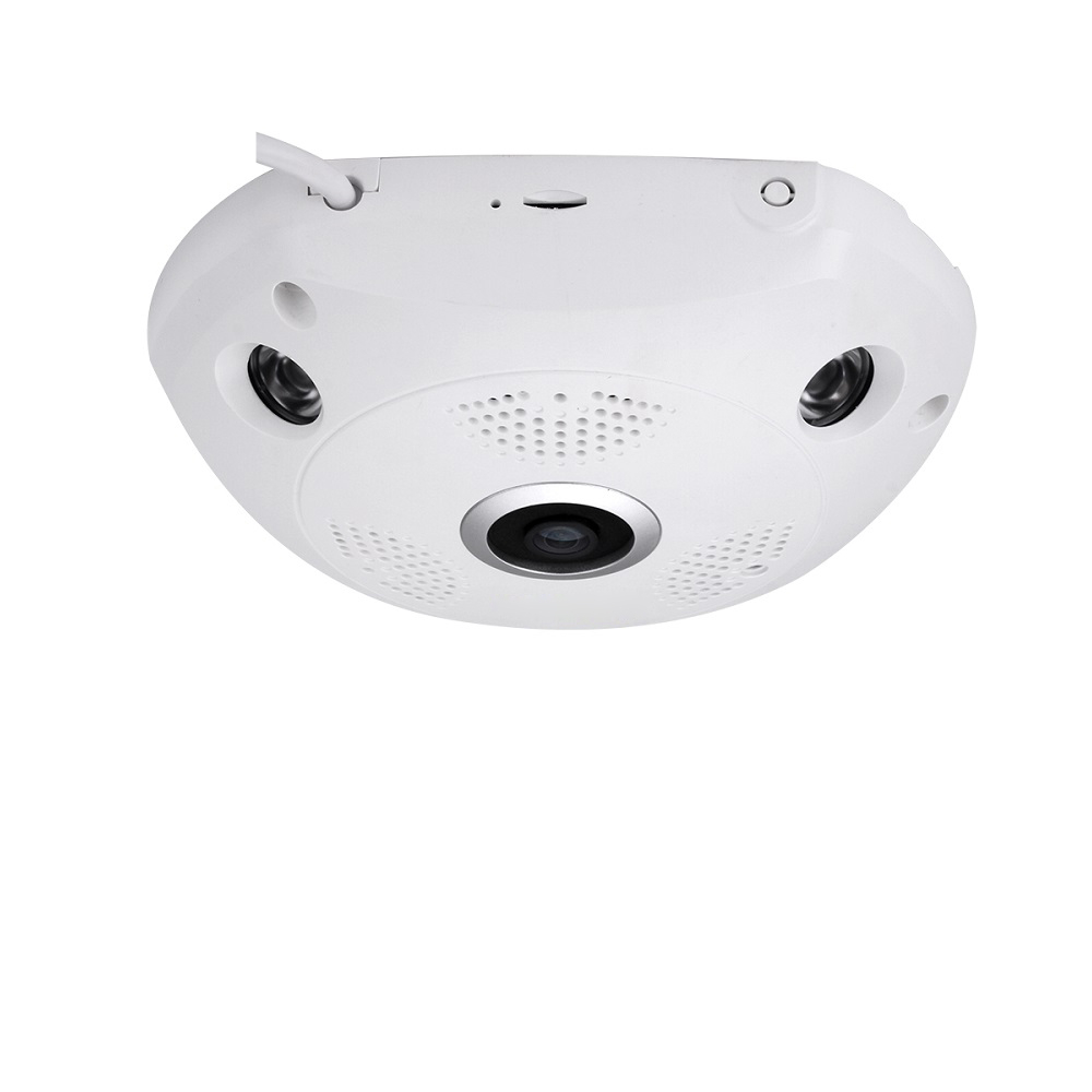 2MP 4MP Fisheye AHD Video Camera 180 360 Degrees OSD Menu Infrared Plastic Dome Indoor Surveillance Panoramic Camera in Surveillance Cameras from Security Protection