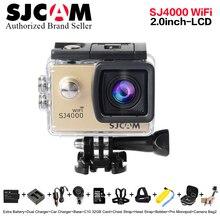Original SJCAM SJ4000 WiFi Action Camera 2.0 inch Sports DV 1080P HD Diving 30M Waterproof mini Camcorder go extreme pro sj cam