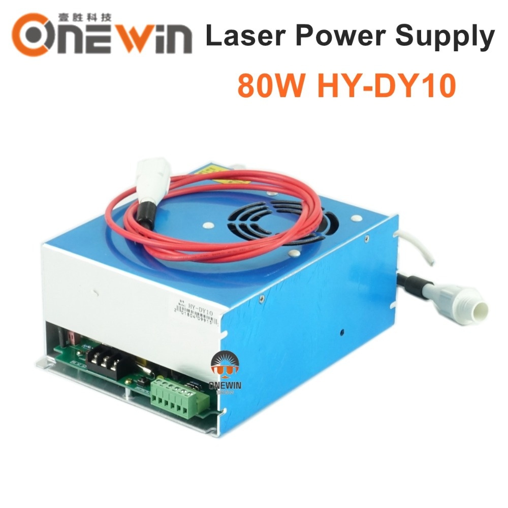 DY10 CO2 laser power supply for W2 S2 Z2 80W S2 laser tube HY-DY10