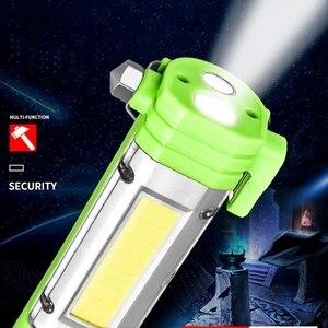 Image 3 - Esterno Batteria Ricaricabile Usb Luce Portatile Con Il Magnete di Campeggio della Torcia Elettrica Garage Strumenti di Lavoro Della Lampada