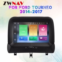 Android 8.0 Octa Core Car GPS Navigation auto stereo Radio Screen For FORD Tourneo 2014 2017 gps android Display ZWNAV