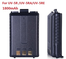1800mAh Walkie Talkie Accessories Baofeng Uv 5r Battery For Uv-5ra uv-5re Extra Longer Time Standby