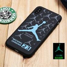 Luminuous Jordan Phone Case iPhone 6 6plus 6s plus 7 7plus 8 X