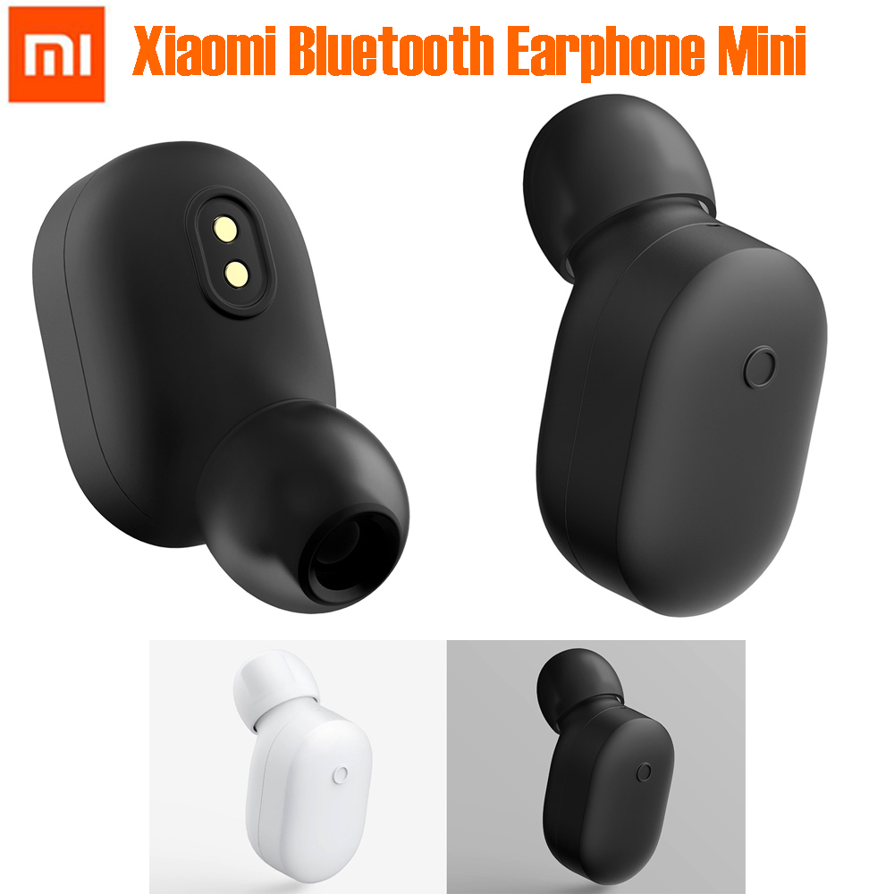 Original Xiaomi auricular Bluetooth inalámbrico Mini auriculares Bluetooth 4,1 Xiaomi Mini auricular inalámbrico construir-en el micrófono de manos libres