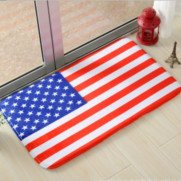 Signal Flag Rug: USA,Australia Flag Mat Cute Soft Antislip Floor Mat Carpet