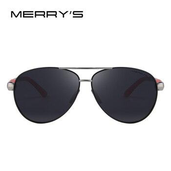 Men Sunglasses HD Polarized Glasses Pilot Aviator Fashion 1
