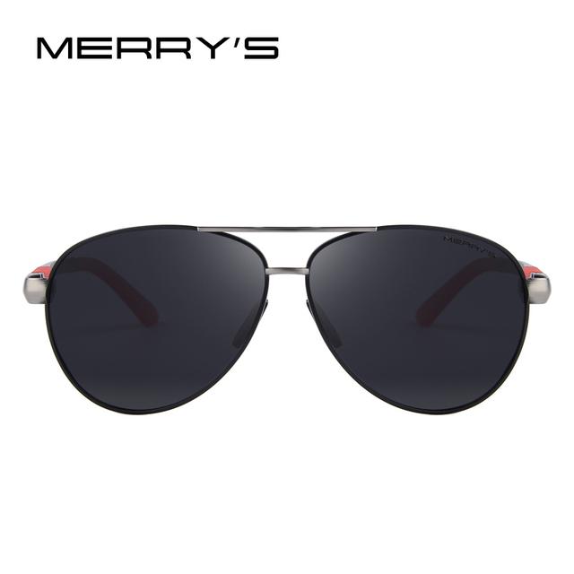 MERRY'S Men Brand Sunglasses HD Polarized Glasses Men Brand Polarized Sunglasses High quality With Original Case
