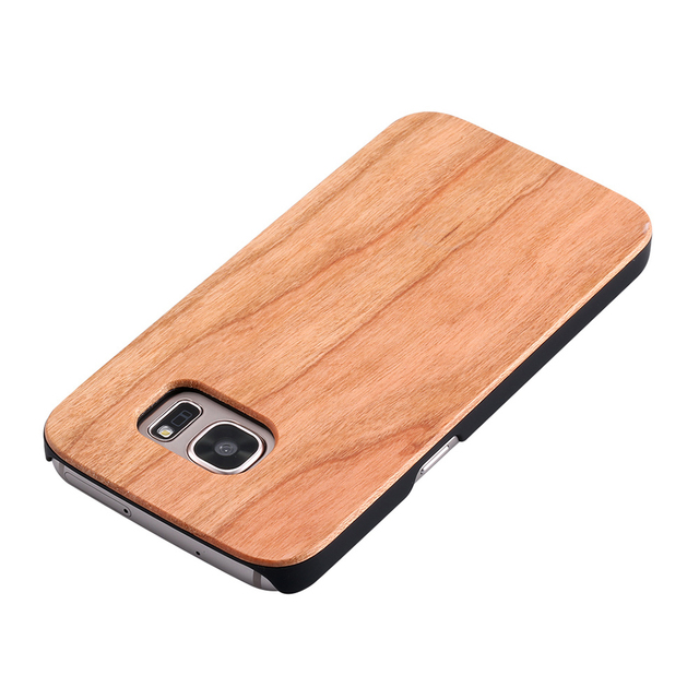 Wooden Phone Case For Samsung Models with PC Protective Layer