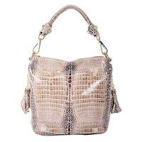 100 Genuine Leather Women Bags Luxury Serpentine Real Leather Women Handbag New Fashion Messenger Shoulder Bag