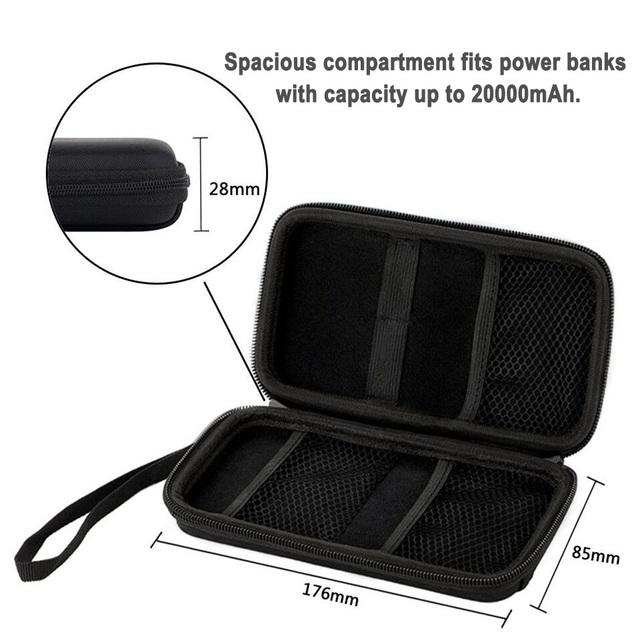 EVA Power Bank External Battery Travel Box