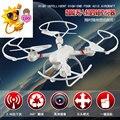 Cuatro Aviones Eje vehículo aéreo no tripulado 2.4G 4CH RC Quadcopter Drone Profesional HD Cámara de Control Remoto Helicóptero DD003