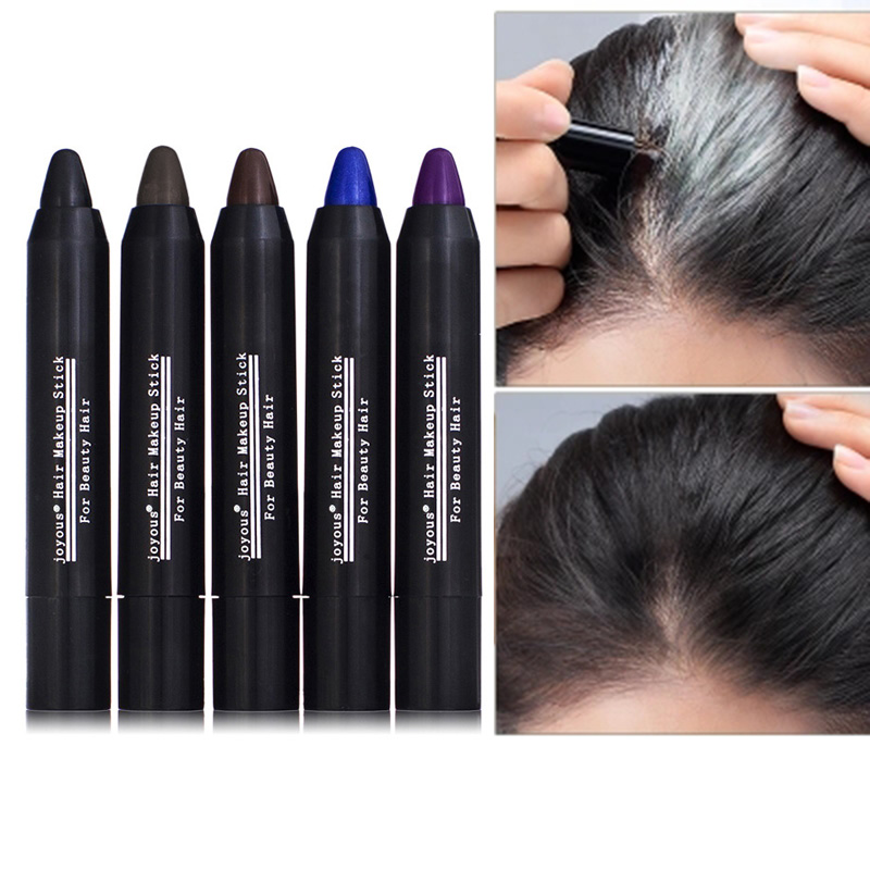 Fast Dying Hair Pen Disposable Temporary Hair Dye Color Chalk Crayons Paint Contour Pen YF2018