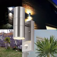 10w Infrared Human Body Induction Indoor wall lamp PIR Motion Sensor Led wall Light
