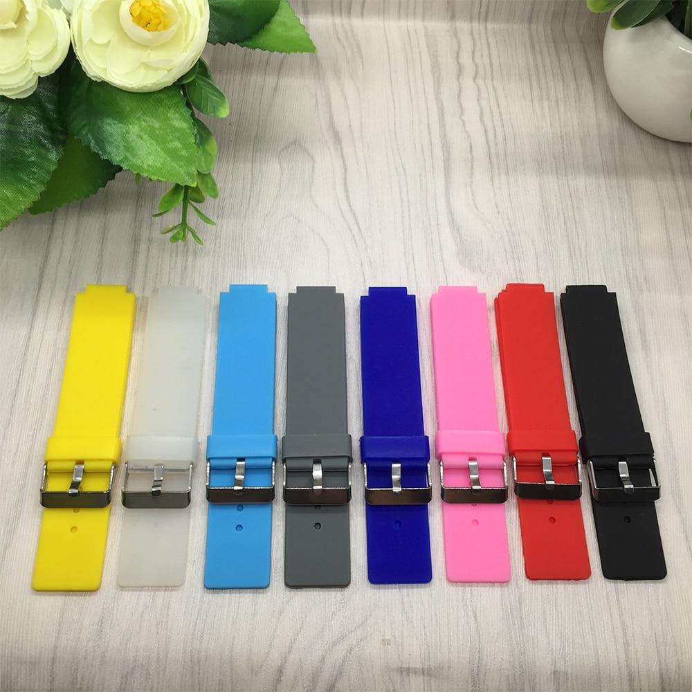 For Garmin Forerunner220/235/620/630/735XT Watch band Quality Silicone Watchband with Tools Garmin Smart watches accessories garmin forerunner 630