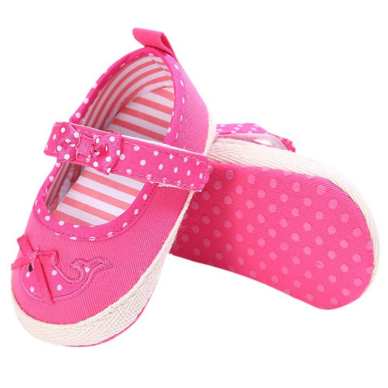Spring Autumn Baby Shoes Bow Knot Kids Girl Cloth Infant Kids Girl Soft Sole Crib Toddler Newborn First Walkers Kids Footwear