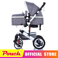 zhilemei oley stroller high landscape can sit or lie shock winter children baby stroller free delivery to Russia