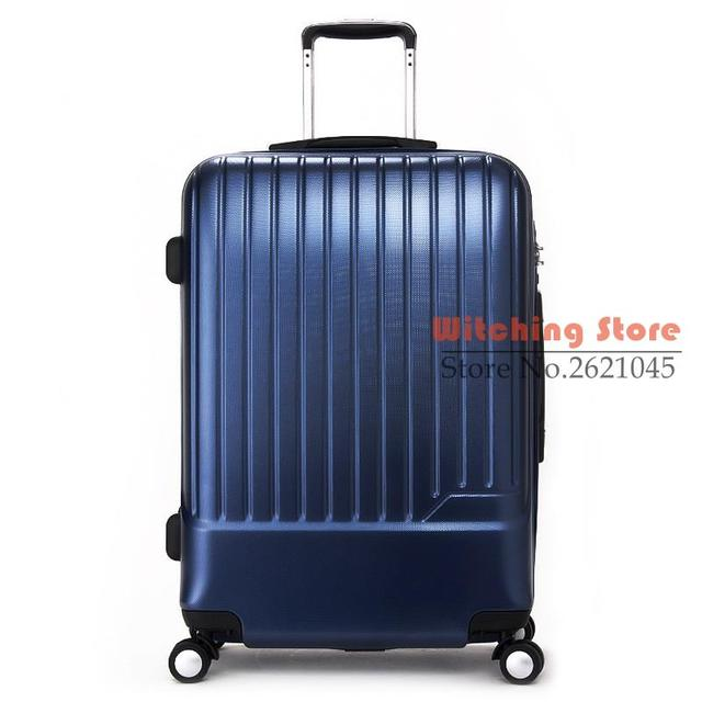 20 INCH 202428# PC universal wheel trolley suitcase package board male and female hard box Denton B651010 #EC FREE SHIPPING